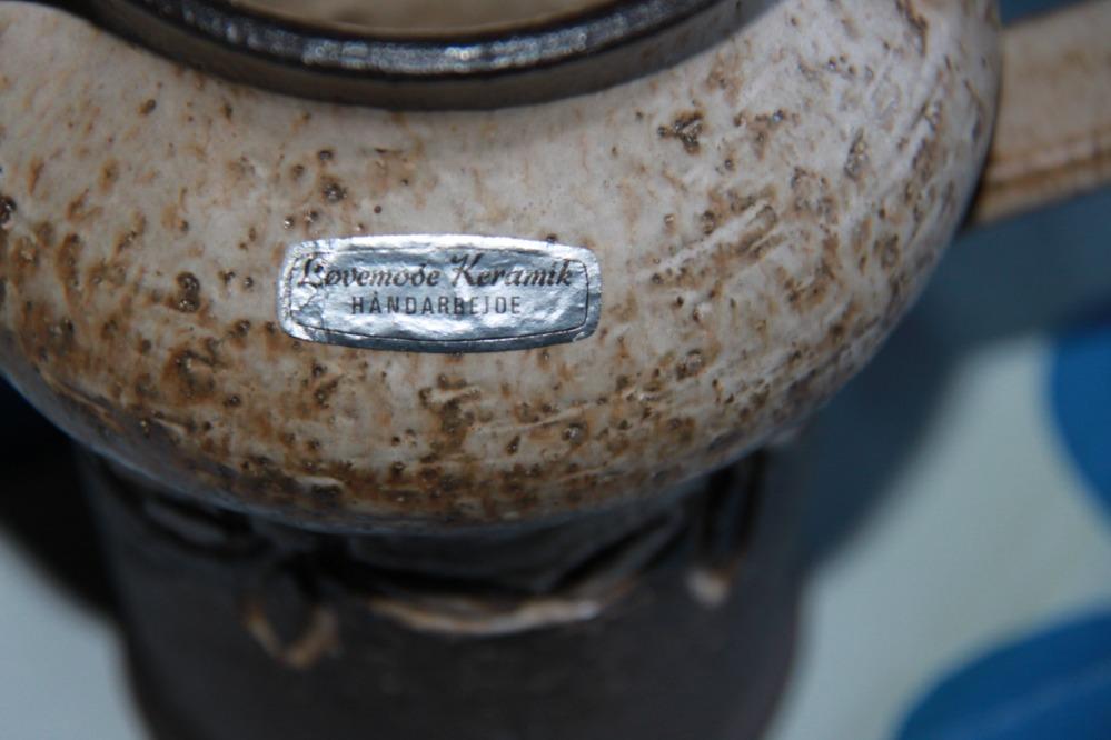 løvemose keramik kande