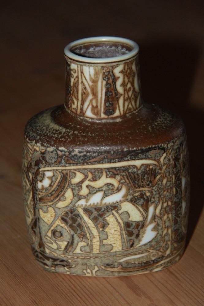 Royal Copenhagen fajance vase
